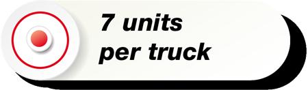 7 Units Per Truck