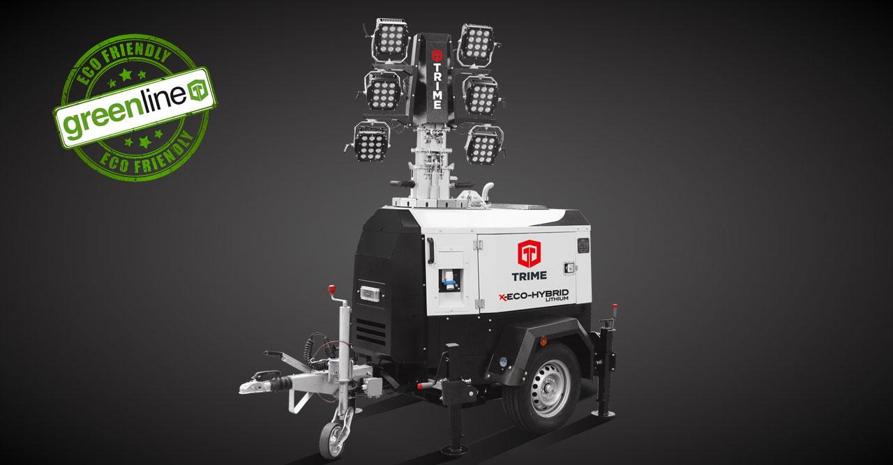 X-Eco Hybrid Lithium 6x100W